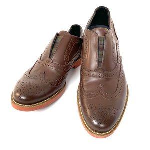 NWOB Doucal's Men's Italian Leather Slip-On Shoe